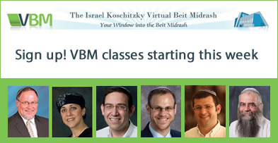 Sign up for VBM Courses today