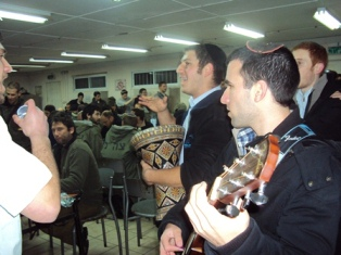 rosh chodesh adar purim party army base1
