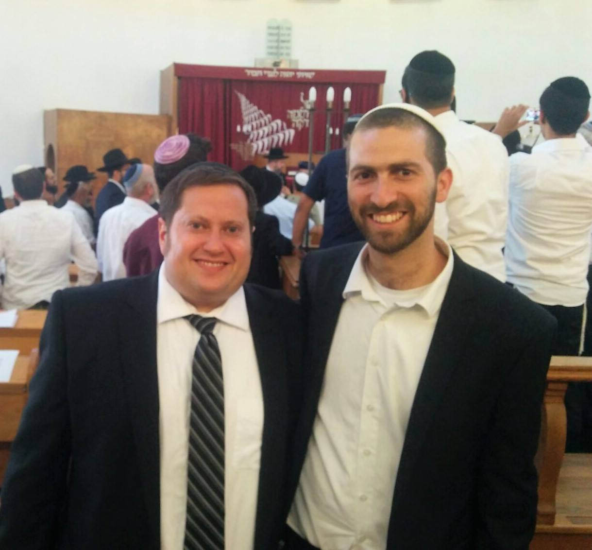 yonatan shai freedman and eitan bar or receiving semicha sept 8 2017