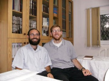 Building and Reuniting Hillel Maizels and Avi Zimmerman2
